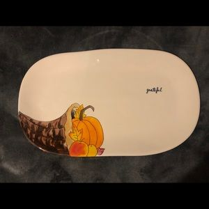 "Rae Dunn ""Grateful"" Tray"